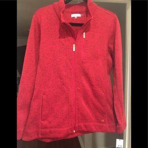 Calvin Klein Sweatshirt Jacket with Zipper